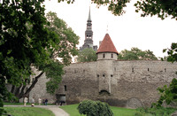 City wall and tower-2