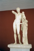 Hermes of Praxiteles - Temple of Hera
