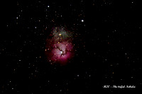 M020 - The trifid Nebula