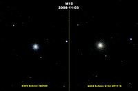 M15: Comparison of Q453 and D300 images
